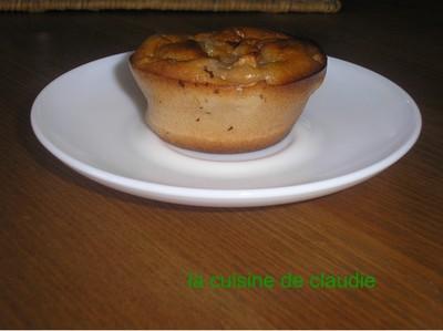 Mini cakes moelleux pomme cassis - Photo par claudiLM