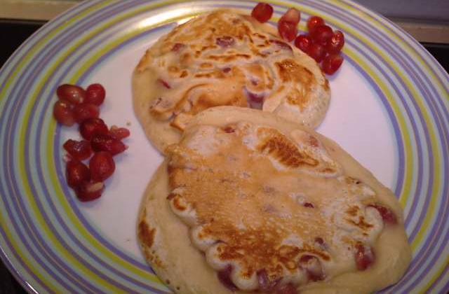 Pancakes à la grenade - Photo par kornichon