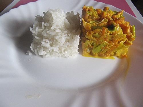 Fondue de légumes aux crevettes - Photo par mapopotegourmande