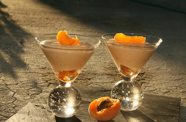 Mousse aux abricots - Photo par jackieyZ
