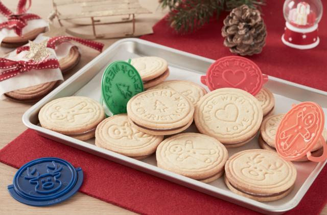 Biscuits de Noël fourrés au Nutella® - Photo par Nutella