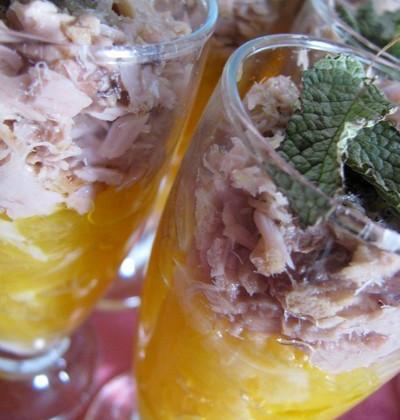 Salade d'orange au thon - Photo par elyza9
