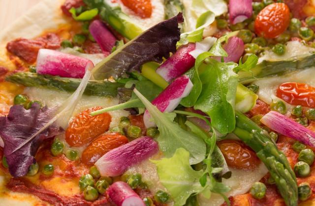 Pizza printanière - Photo par Chef Damien