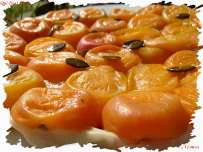 Tatin d'abricots en Filo ! - Photo par chouya