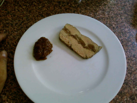 Terrine de foie gras à la figue - Photo par Chef Damien