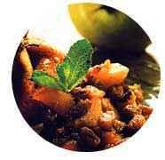 Aumônières à la compote de fruits et caramel - Photo par guygobert