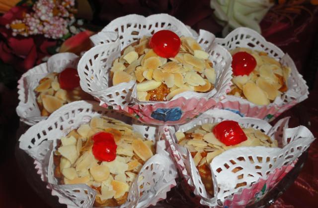 Les amandines (gâteau algérien) - Photo par hayat de universdehayat