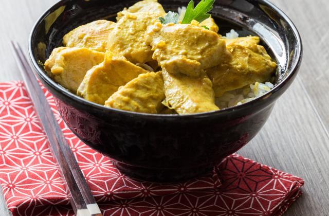 Poulet curry-mangue - Photo par Amora