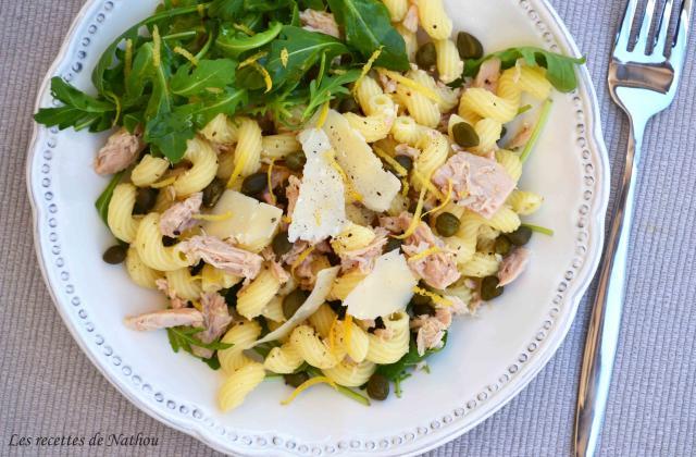 Salade de pâtes au thon et au citron - Photo par Invité