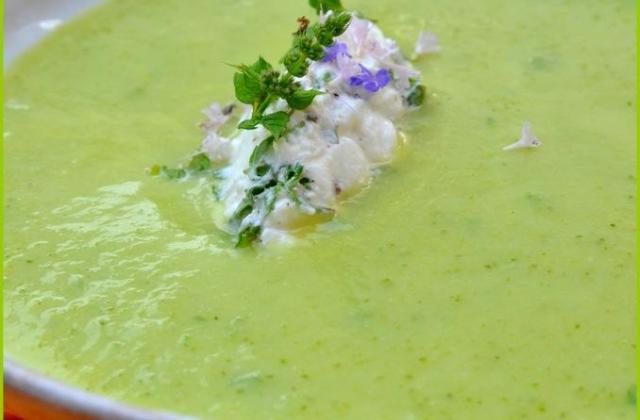 Soupe de courgettes au St Môret - Photo par 750g