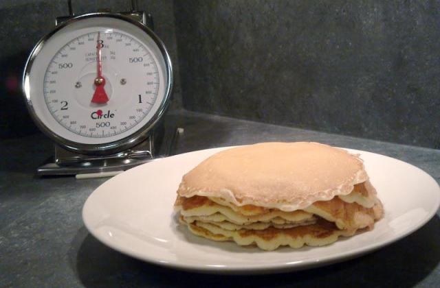 Les pancakes originaux - Photo par Rosenoisettes