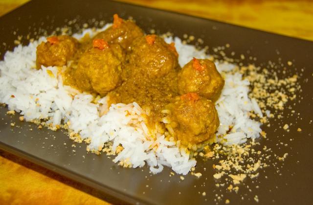 Boulettes sauce graines - Photo par malikele