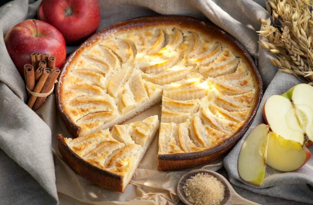 Tarte aux pommes normande - Photo par 750g