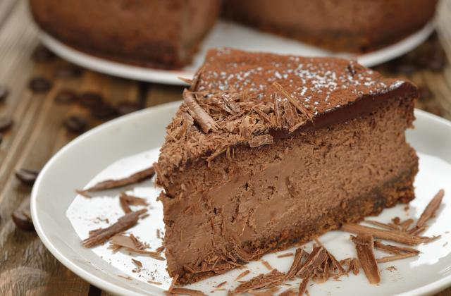 Cheesecake au chocolat et philadelphia - Photo par 750g