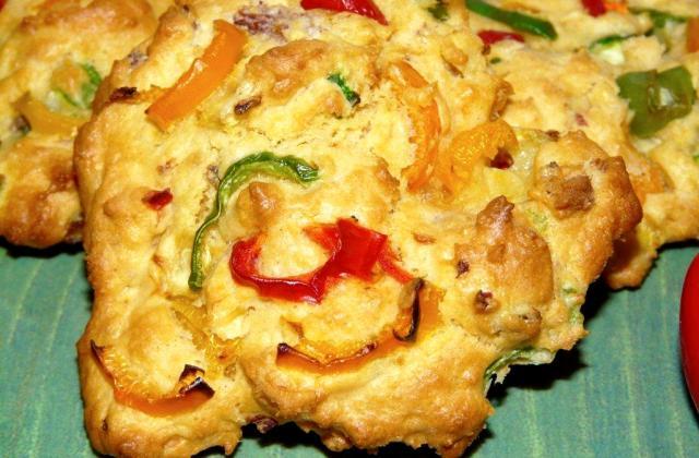 Cookies poivrons - Photo par laurenIPd