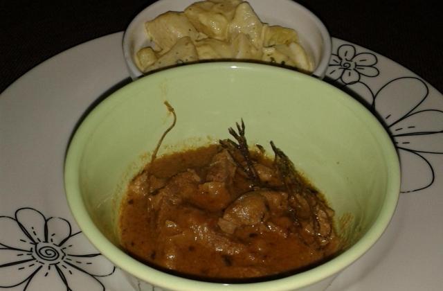 Boeuf à la sauce arachide - Photo par Invité