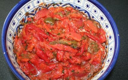 Ma salade méchouia - Photo par CARDAMOME