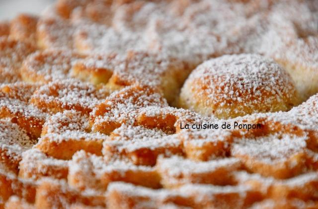 Petit gâteau de voyage aux blancs d'œufs - Photo par Ponpon
