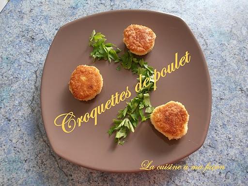 Croquettes de poulet au piment d'Espelette - Photo par nadège18