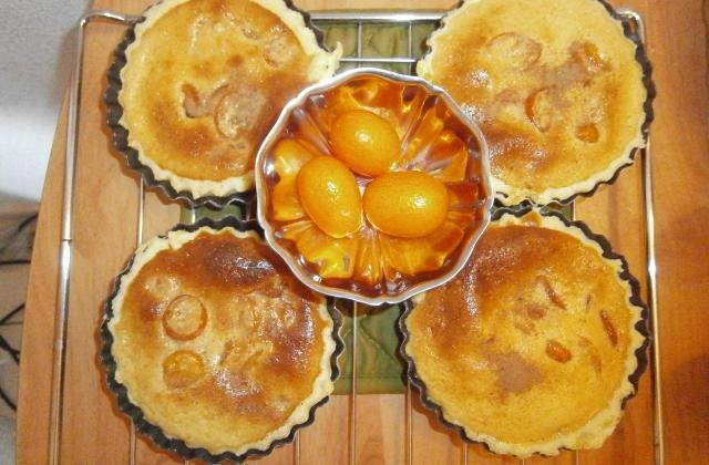 Tartelettes de kumquats à la migaine - Photo par delicesdunenovice