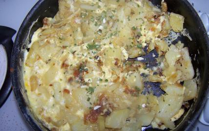 Omelette aux pomme de terre de ma grand mère - Photo par maliba
