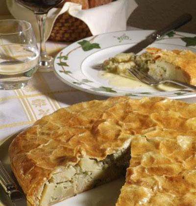 Le pâté aux pommes de terre - Photo par Allier Tourisme