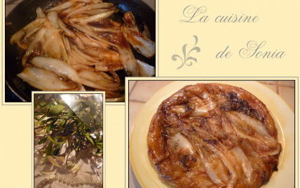"Tarte Tatin d""endive au miel - Photo par champs8"