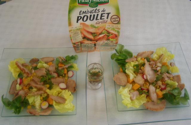 Salade ensoleillée couleur Eté - Photo par findv