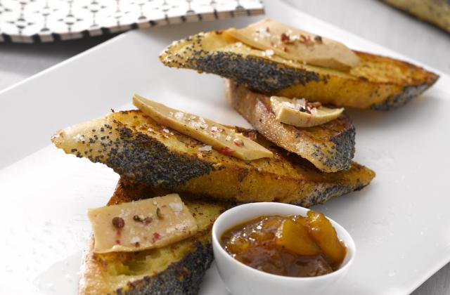 Pain perdu de foie gras - Photo par Retrodor