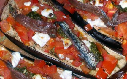 Aubergines façon pizza - Photo par isapan