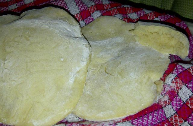 Syrian bread (pain syrien) - Photo par oumhurayra