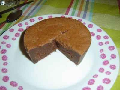 Fondant au chocolat recette de l'Ouest - Photo par maximelI