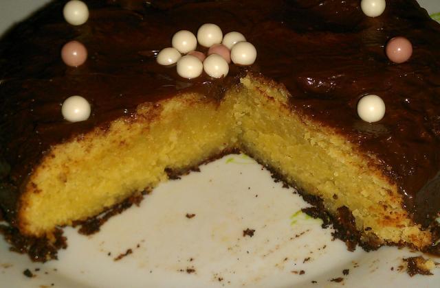 Biscuit pithiviers au chocolat - Photo par eidole