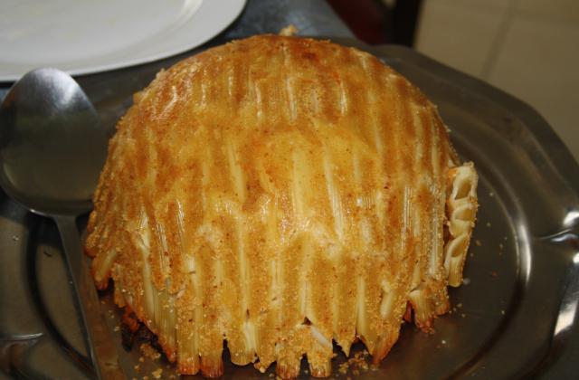 Timbale de pâtes - Photo par cecivier