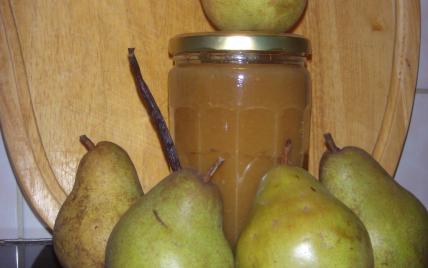 Confiture de poires à la vanille - Photo par 750g
