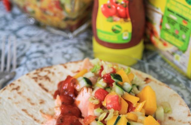 Tacos au saumon grillé aux épices - Photo par Old El Paso