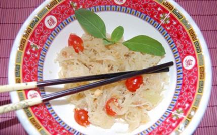 Salade de papaye verte classique - Photo par Babali