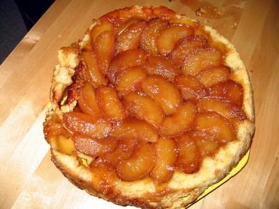 Tatin de pommes fondantes au caramel d'érable - Photo par williaGu