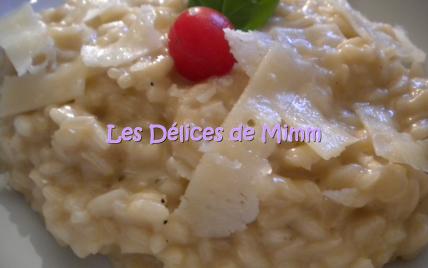 Risotto au parmesan - Photo par mimm10