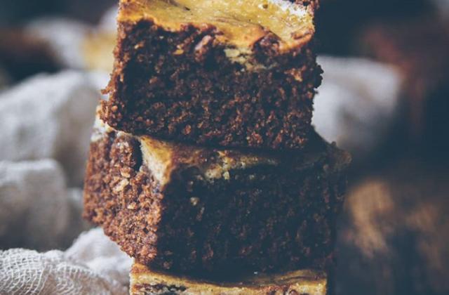 Cake marbré choco-pistache - Photo par Cherry Cramberries