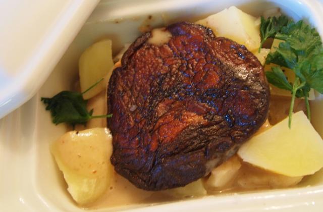 Ragoût de poisson cèpes et foie-gras - Photo par infoclZ