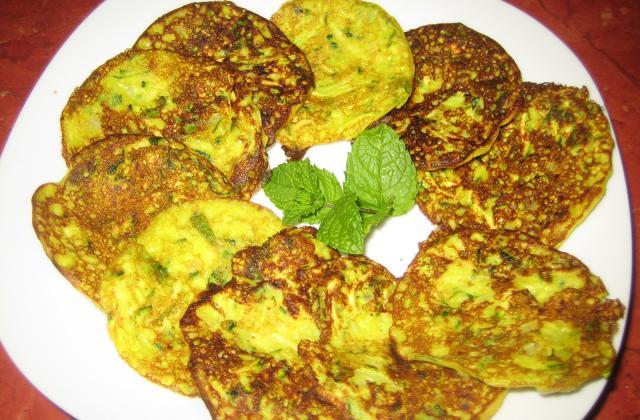 Pancakes de courgette coco et curry - Photo par 750g