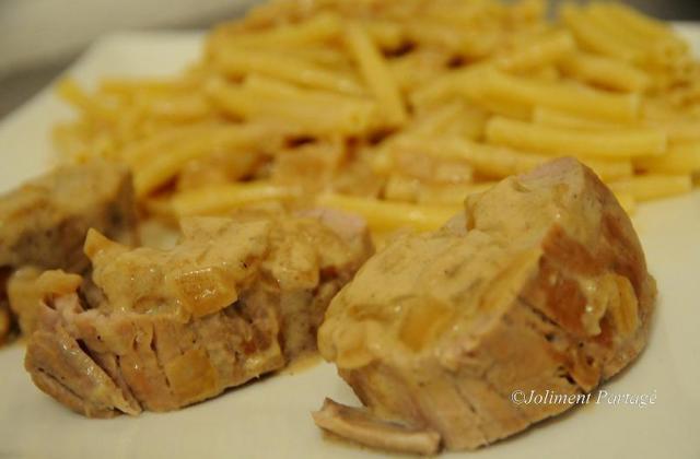 Filet mignon sauce miel-moutarde - Photo par Celine3113
