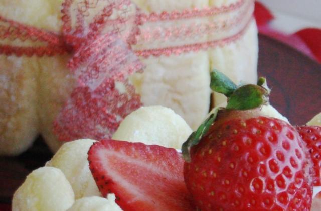 Charlottes aux fraises chantilly - Photo par ju2959
