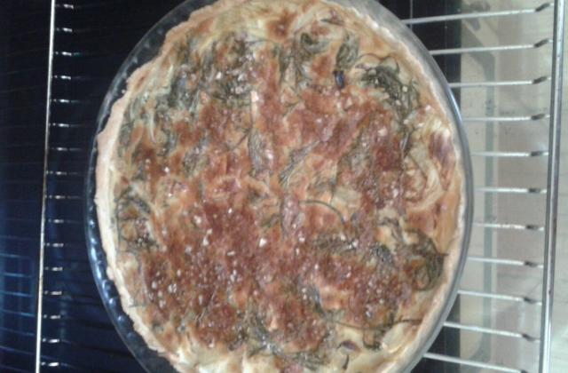Quiche aux fanes de carottes - Photo par laureneF6