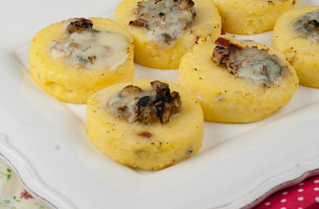Gnocchi au Roquefort Papillon et aux noix - Photo par Mamina