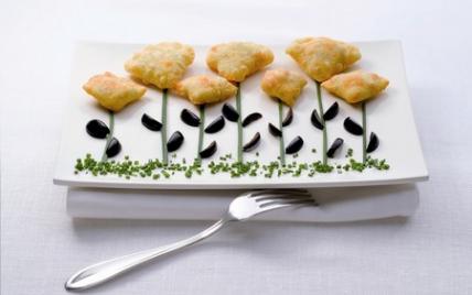 """Petits beignets de viande aux olives d""""Espagne - Photo par Olives d'Espagne"""