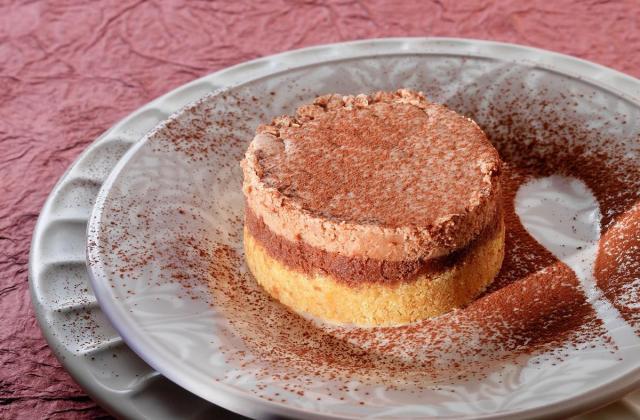 Cheesecake aux 2 chocolats - Photo par Cedus Le sucre
