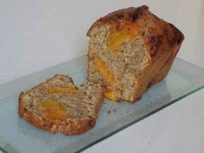 Cake aux abricots, amandes et miel - Photo par zinabb