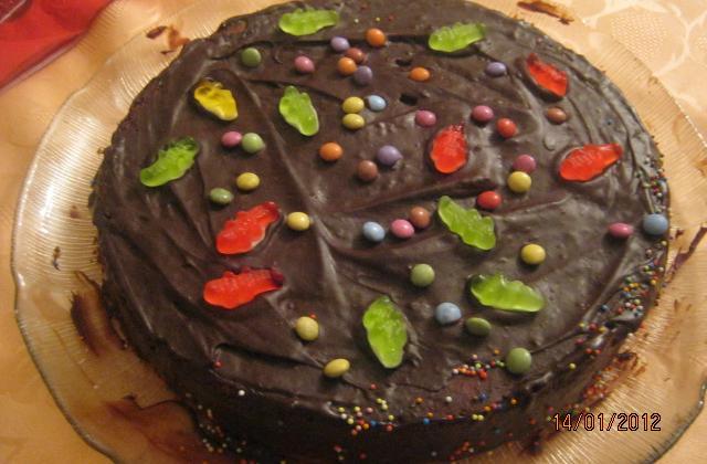 Gâteau au chocolat pour enfants - Photo par OPhélie